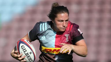 Amy Cokayne was one of six try scorers for Harlequins