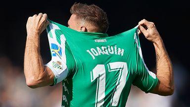 Joaquin breaks La Liga hat-trick record