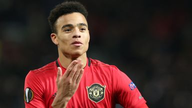 Mason Greenwood scored Manchester United's second and fourth goals at Old Trafford