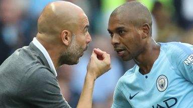 fifa live scores - Pep Guardiola defends persisting with Fernandinho in Manchester City defence