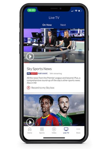 watch sky sports news online free iphone