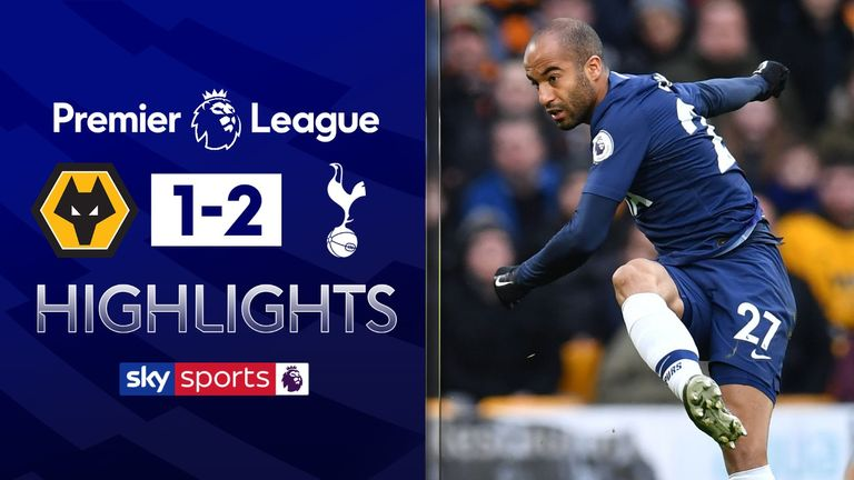 FREE TO WATCH: Highlights from Tottenham's win against Wolves in the Premier League.