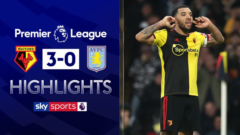 FREE TO WATCH: Highlights from Watford's victory against Aston Villa