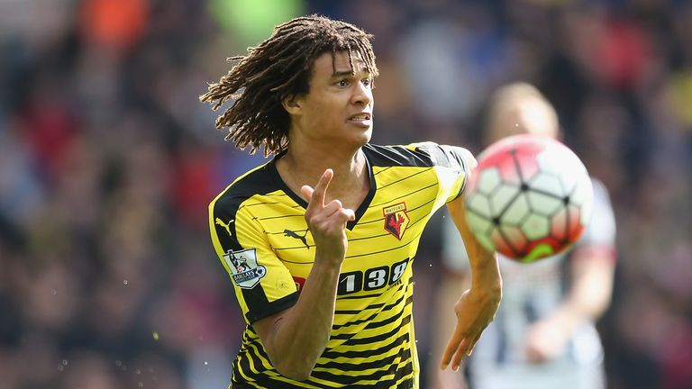 Nathan Ake primarily played as a left-back during his loan spell at Watford in 2015/16