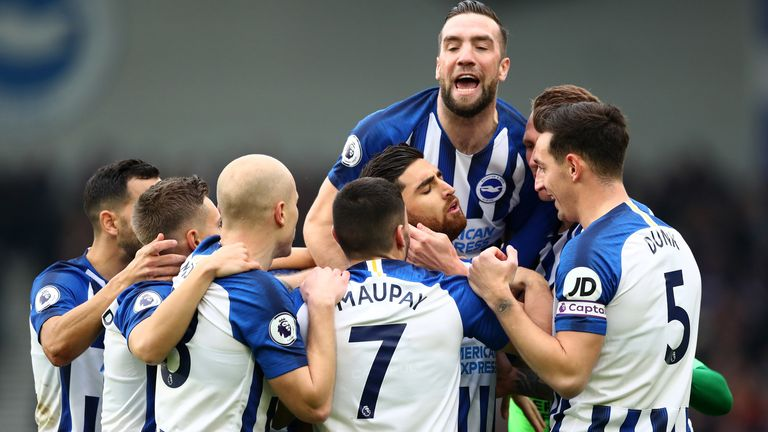 Brighton have picked up points against Tottenham, Arsenal and Chelsea this season