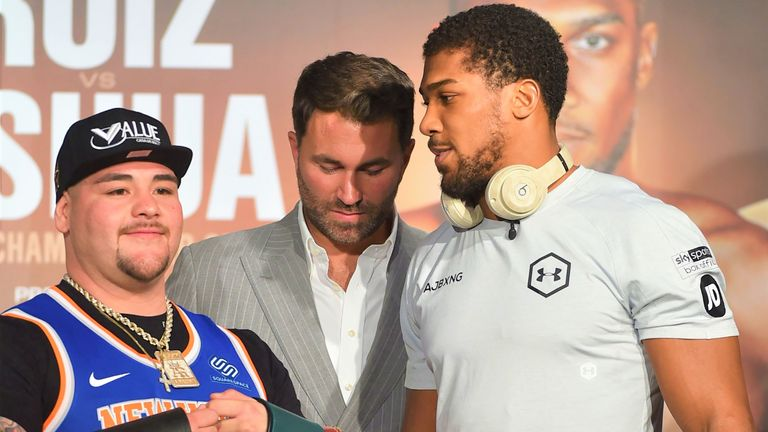 Anthony Joshua faces Andy Ruiz Jr again in Saturday's rematch