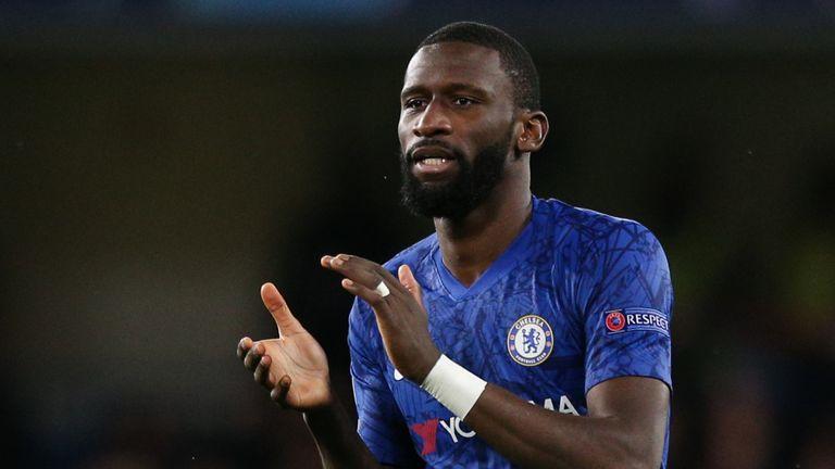 Antonio Rudiger impressed in Chelsea's win over Lille
