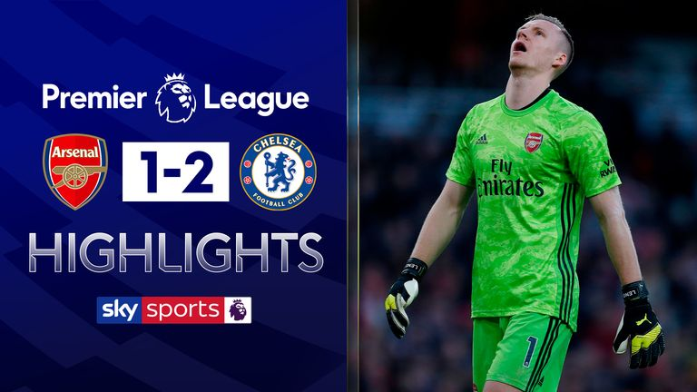 FREE TO WATCH: Highlights from Chelsea's win at Arsenal in the Premier League