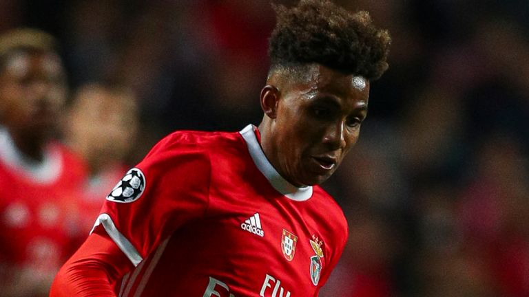 Gedson Fernandes has not featured in Benfica's last seven games and is thought to have fallen out of favour