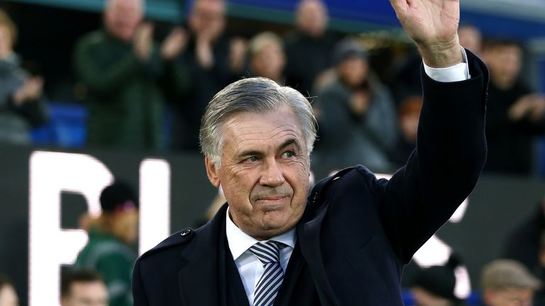 Carlo Ancelotti has made an immediate impact at Goodison Park