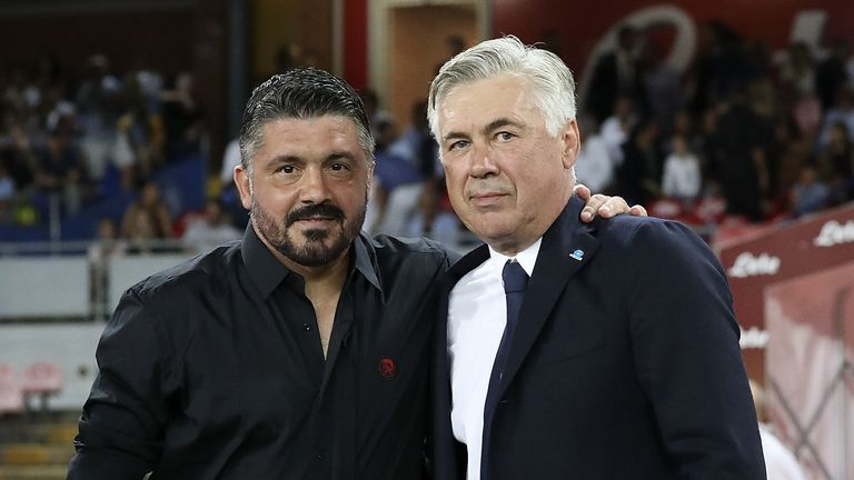 Gennaro Gattuso could replace Carlo Ancelotti at Napoli