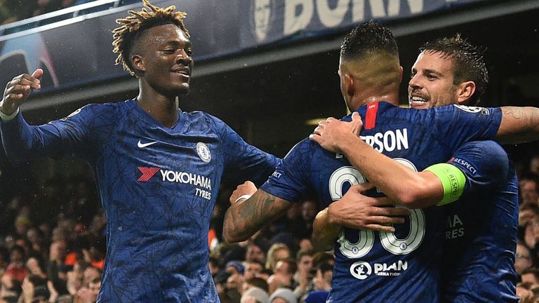 Chelsea progressed with a win over Lille