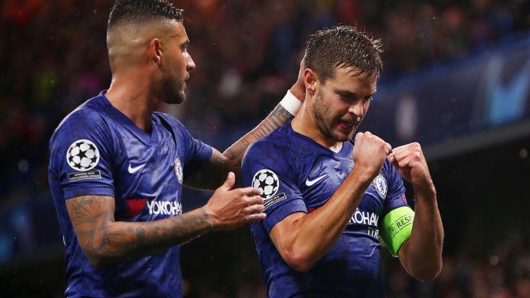 Cesar Azpilicueta scored Chelsea's winning goal against Lille