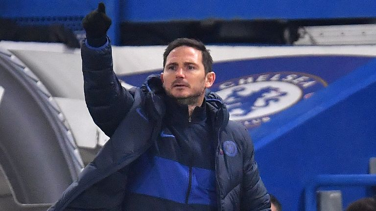Frank Lampard says Chelsea must start winning at home