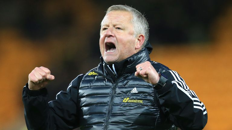 Chris Wilder took charge of Sheffield United in 2016 with the club in League One