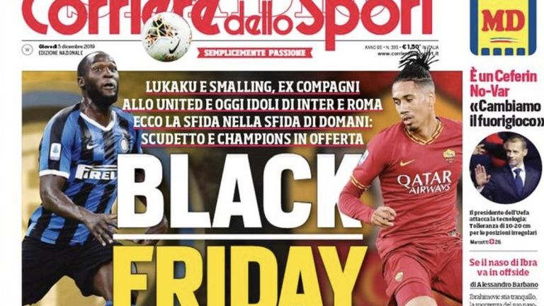 Roma And AC Milan Ban Paper After Racist Headline