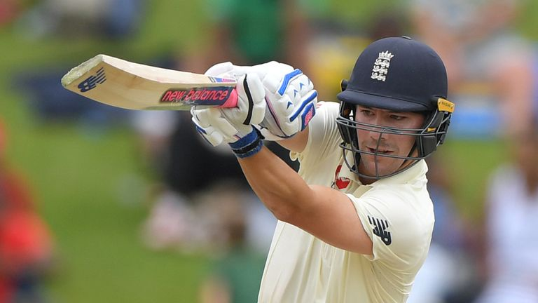 Burns top-scored for England at Centurion in the first Test