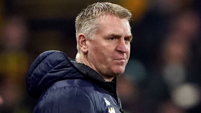 Dean Smith insists there will be no 'crisis meeting' at Villa Park