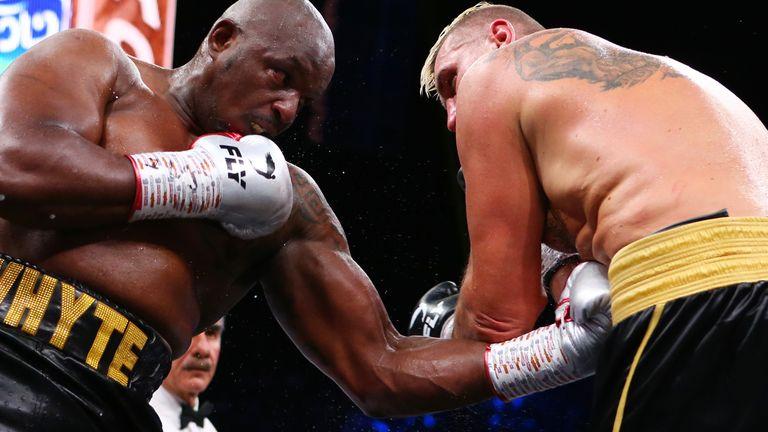 Dillian Whyte beat Mariusz Wach in Saudi Arabia