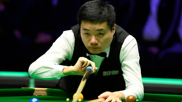Ding Junhui suffered an early exit at the hands of Joe Perry