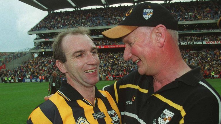 The duo enjoyed huge success together during Carey's playing days