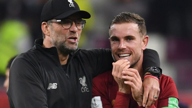Jordan Henderson is vital for Jurgen Klopp's side, says Carragher