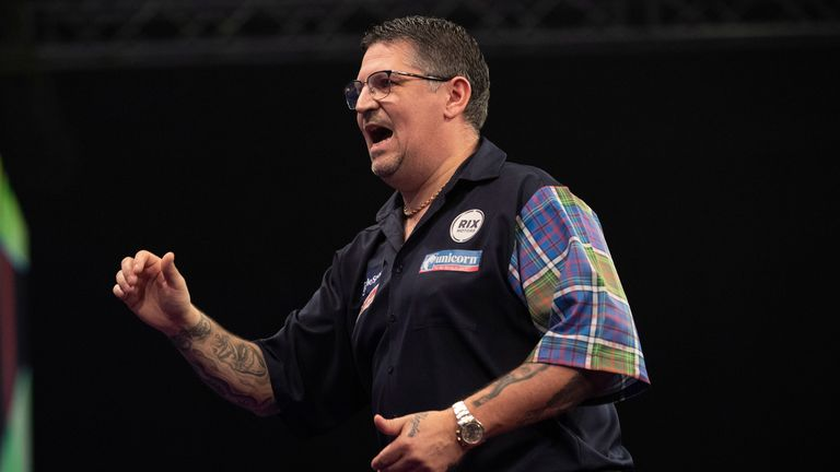 Gary Anderson has reached at least the quarter-final in each of the last five World Championships