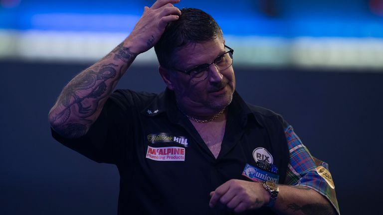 Gary Anderson will not feature in the PDC Home Tour