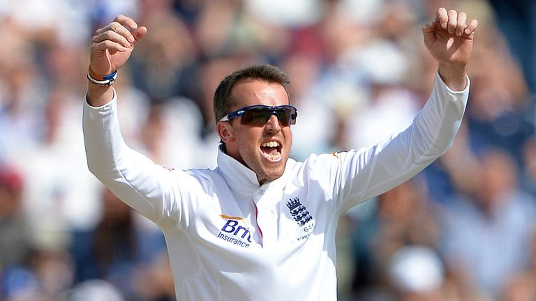 Graeme Swann took 193 of 255 England Test wickets in the 2010s