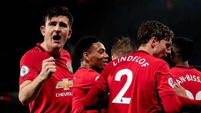Harry Maguire joined Manchester United from Leicester in the summer