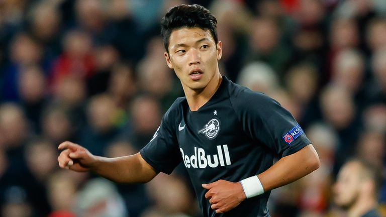 Hwang Hee-Chan is the latest RB Salzburg star linked with a Premier League move