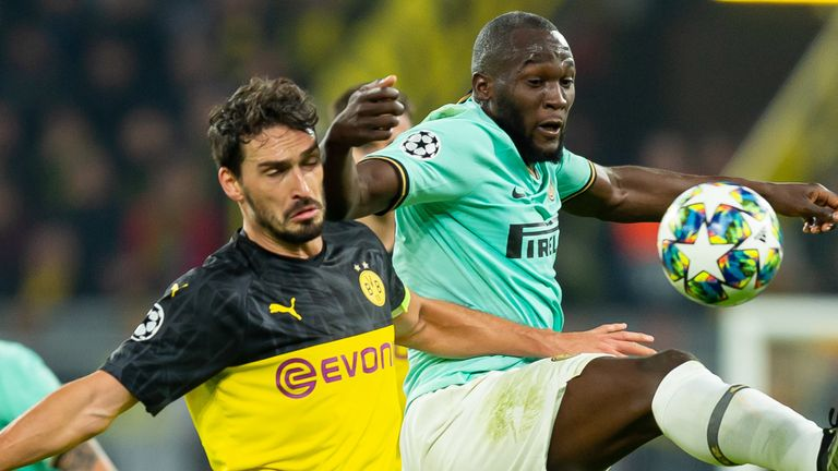 Borussia Dortmund and Inter Milan are vying for the final qualification spot from Group F