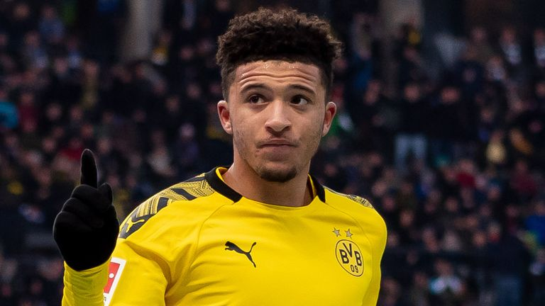 Jadon Sancho is expected to leave Borussia Dortmund this summer