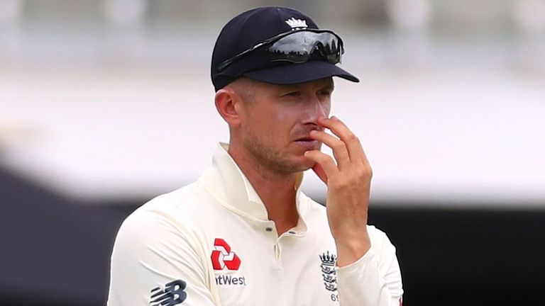 Having already survived one scare, Kane Williamson chipped the ball to Joe Denly at midwicket, Jofra Archer was already celebrating - but Denly shells it!