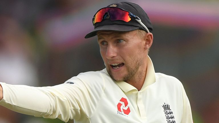 England captain Joe Root is off the field ill at Centurion