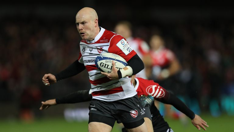 Joe Simpson has had a flying start to his Gloucester Rugby career since joining from Wasps in the summer