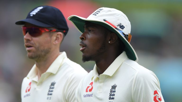 James Anderson and Jofra Archer - will both play for England in the first Test against West Indies?