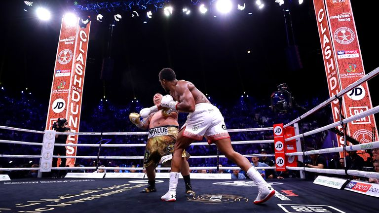 Joshua outclassed Ruiz Jr in their rematch
