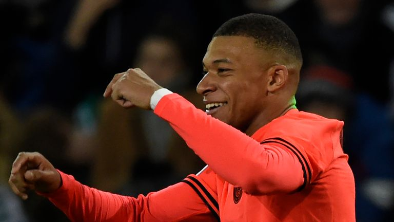 Kylian Mbappe has been in red-hot form for PSG this season
