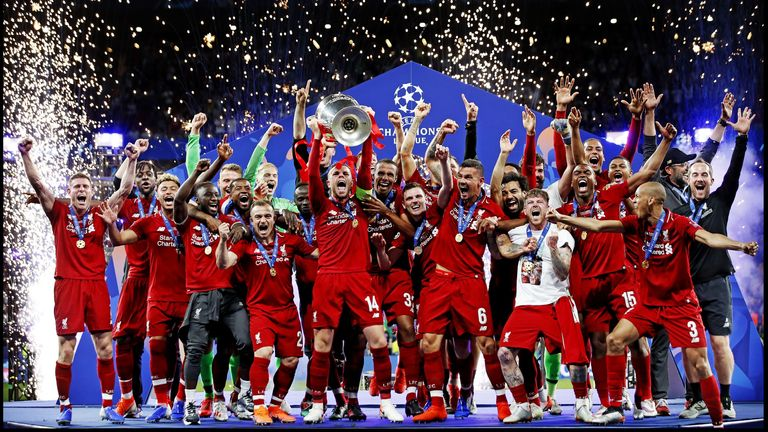 Liverpool won the Champions League last season and have already qualified for next year's competition as Premier League winners