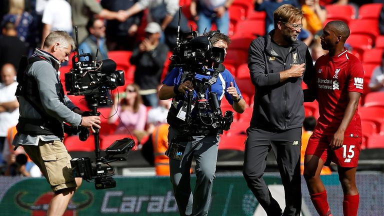 At least 70 broadcast staff are typically used at live football games