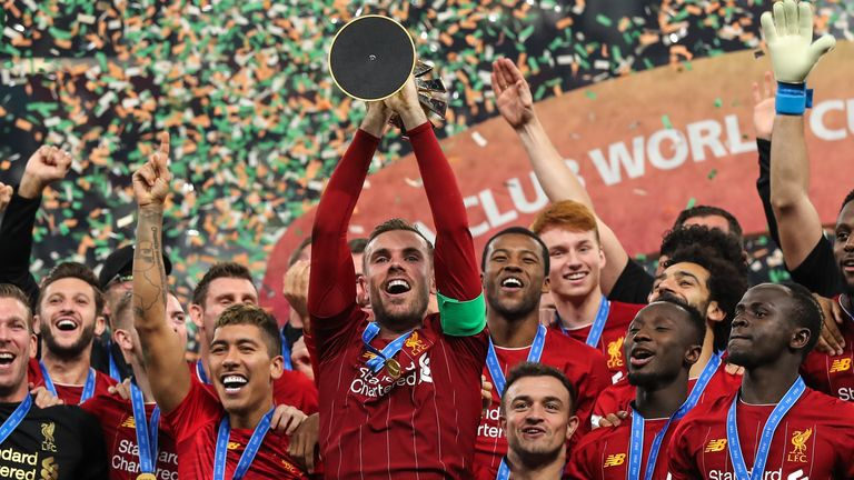 Will Jordan Henderson get the chance to hold aloft the Premier League trophy?