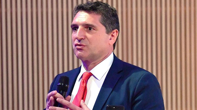 Serie A CEO Luigi De Siervo cited former British prime minister Margaret Thatcher