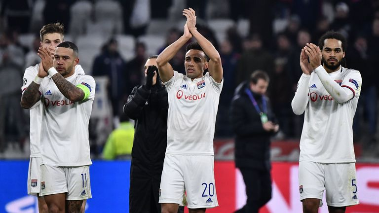 Lyon made it through to the last 16 after a draw with RB Leipzig