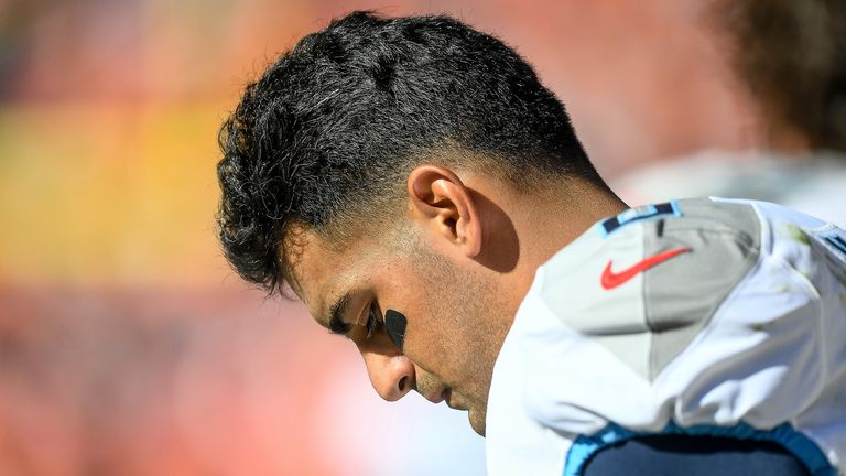 Mariota has played just six times in 2019, throwing 94 passes for 1,179 yards and seven touchdowns