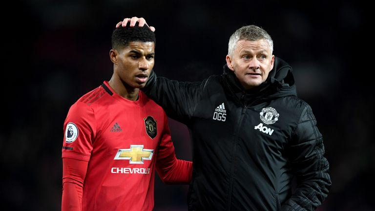 Ole Gunnar Solskjaer has shown commitment to young players like Marcus Rashford