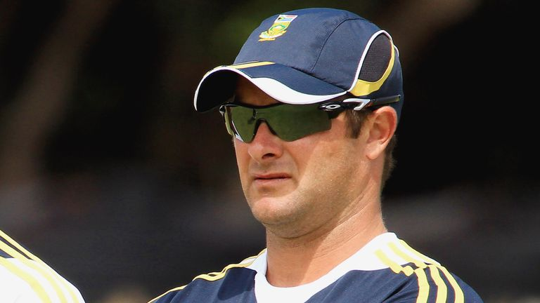 Boucher named South African head coach