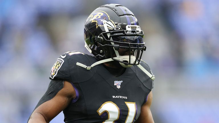 Ingram has rushed for 963 yards and 10 touchdowns for the Ravens so far in 2019