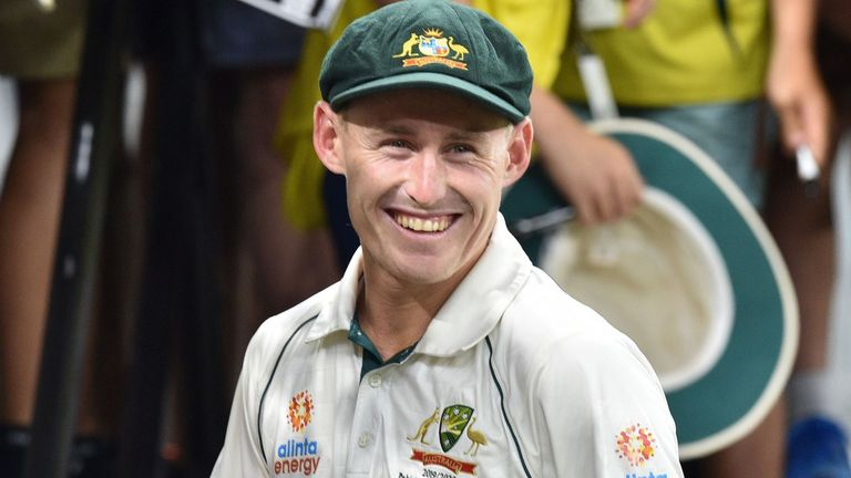 Marnus Labuschagne is now fifth in the ICC Test batting rankings