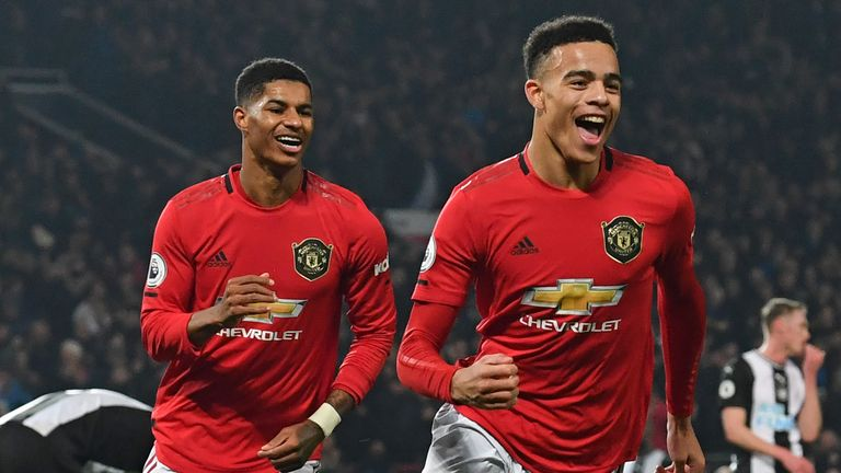 Mason Greenwood and Marcus Rashford have benefited from Ighalo's experience